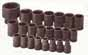 SKT-4038 SK 4038 23 Pc. 1/2 Dr. 6 pt. Standard Metric Impact Socket Set