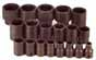 SKT-4039 SK 4039 19 Pc. 1/2 Dr. 6 pt. Standard 3/8-1 1/2 Impact Socket Set