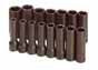 SKT-4048 SK 4048 15 Pc. 1/2 Dr. 6 pt. Deep 10-24mm Impact Socket Set