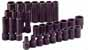SKT-4053 SK 4053 30 Pc. 1/2 Dr. 6 pt. Metric Impact Socket Set