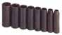 SKT-4078 SK 4078 8 Pc. 3/8 Dr. 6 pt. Deep SAE Impact Socket Set