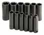 SKT-4082 SK 4082 12 Pc. 3/8 Dr. 6 pt. 8-19mm Deep Impact Socket Set