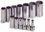 SKT-4453 SK 4453 13 Pc. 3/8 Dr. 12 pt. Deep 1/4-1 Socket Set