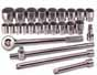 SKT-4725 SK 4725 3/4inch Drive 12 pt. 25 pc. SAE fractional Socket Set