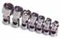 SKT-4934 SK 4934 7 Pc. 1/4 Dr. 6 pt. 3/16 - 9/16 Flex Socket Set