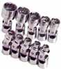 SKT-4935 SK 4935 10 Pc. 1/4 Dr. 12 pt. Flex Socket set