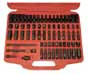 "ATD-2271 ATD 2271 71 Pc. 1/4"" Dr. SAE & Metric Impact Socket Set"