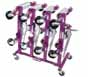 GOJ-456 Gojak 456R Rolling Wheel Dolly Storage Rack