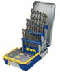 HAN-3018002B Hanson Irwin 3018002B SAE Cobalt M-42 Metal Index Drill Bit Set