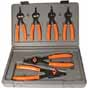 LNG-3597 Lang Tools 3597 6pc. Quick Switch Internal/External Snap Ring Pliers Set